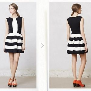 Anthropologie Eva Franco Strata Striped Dress